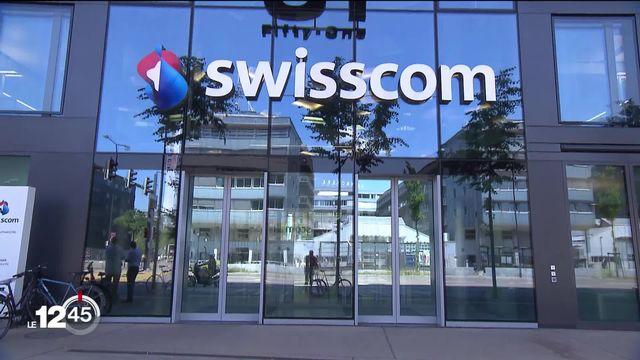 Une grosse panne Swisscom a paralysé les numéros d'urgence la nuit dernière. [RTS]