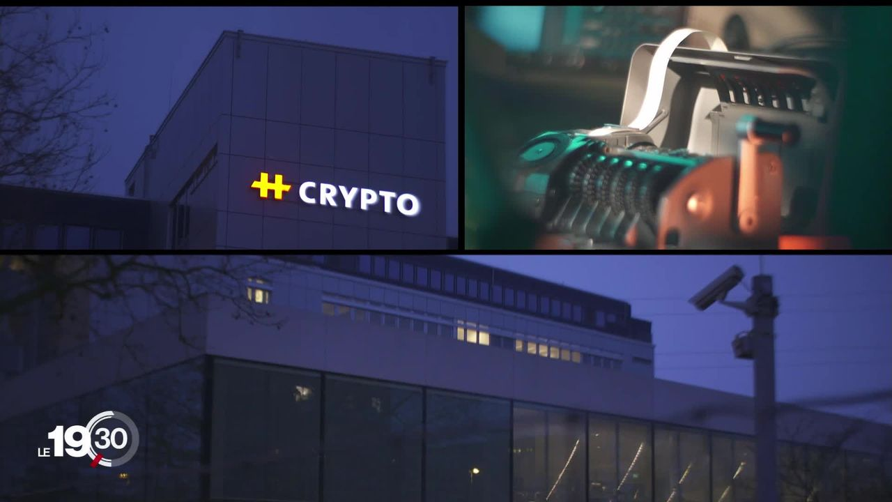 Espionnage en Suisse: l'entreprise Crypto était secrètement contrôlée par la CIA et les services secrets allemands. [RTS]