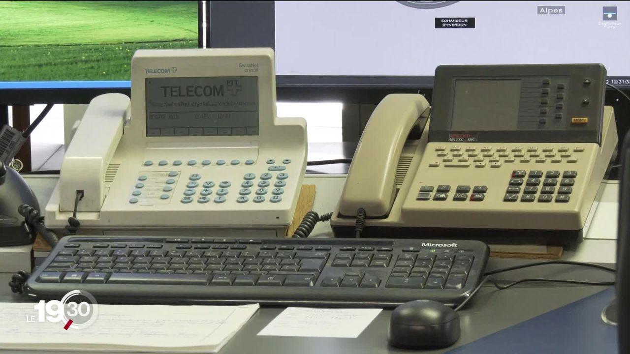 """Delphine Gianora : """"Chaque service d'urgence a dû se débrouiller tout seul, parce que Swisscom n'avait pas de plan B hier soir"""". [RTS]"""