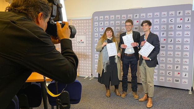 Économie : Sébastien Schorderet de la RTS est le meilleur jeune journaliste 2020 •