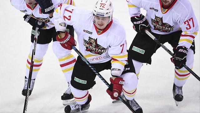 Vadim Pereskokov a notamment évolué au Red Star Kunlun, club chinois de KHL, en 2016. [AFP]