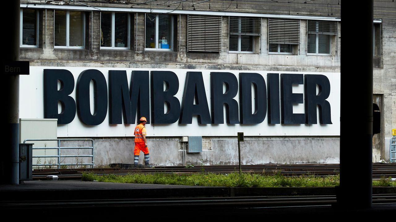 Bombardier a essuyé une perte de 1,6 milliard. [Denis Balibouse - Reuters]