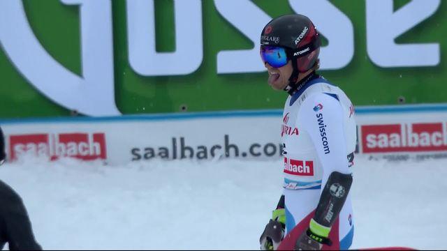 Saalbach (AUT), Super G messieurs: Mauro Caviezel (SUI) [RTS]