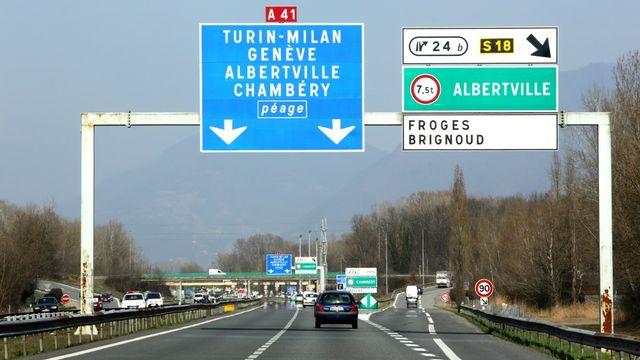Le projet d'autoroute entre Machilly et Thonon continue de faire réagir. [Godong/BSIP - AFP]