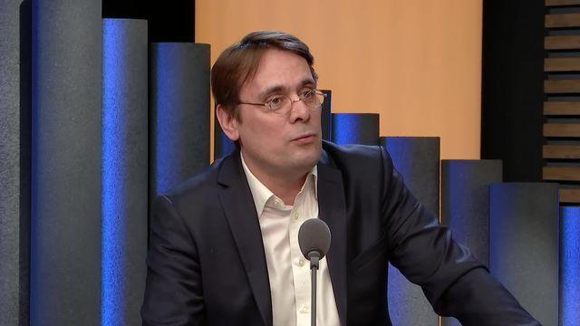 Le Parlement veut avancer vite dans l'affaire Crypto AG: interview de Frans Imbert-Vier [RTS]