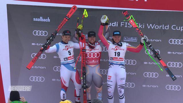 Super-G messieurs,  Saalbach (AUT):  victoire de Kilde (NOR), 2e place pour Mauro Caviezel (SUI) [RTS]