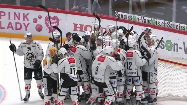 National League, 45e journée: Lausanne - Lugano (2-3 tb), grand format [RTS]