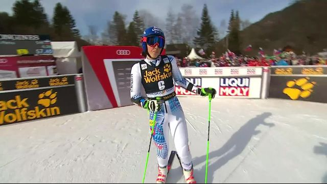 Kranjska Gora (SLO), géant dames, 1re manche: Petra Vlhova (SVK) prend les commandes [RTS]