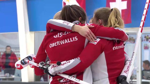 Finale dames, Oberwallis – Aarau HBL (7-4) : les Valaisannes s'imposent [RTS]