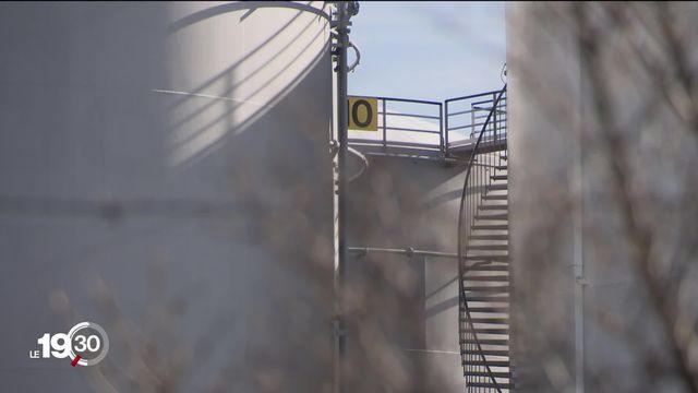 Projet d'attentat à Vernier (GE): la présence des citernes de pétrole est plus contestée que jamais [RTS]