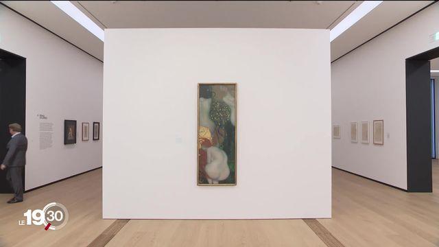 Le Musée Cantonal des Beaux-Arts de Lausanne expose les artistes viennois qui ont contribué à la naissance de l'Art moderne [RTS]