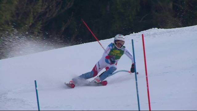 Kranjska Gora (SLO), slalom dames: Michelle Gisin (SUI) [RTS]