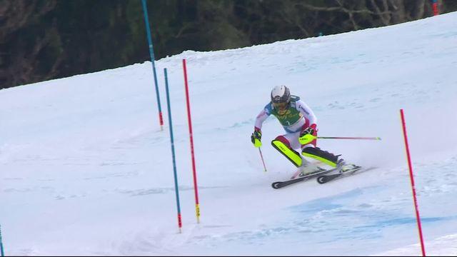 Kranjska Gora (SLO), slalom dames: Wendy Holdener (SUI) [RTS]