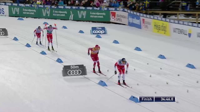 Ostersund (SWE), 15km messieurs: Dario Cologna (SUI) termine 10e, Goldberg (NOR) s'impose [RTS]