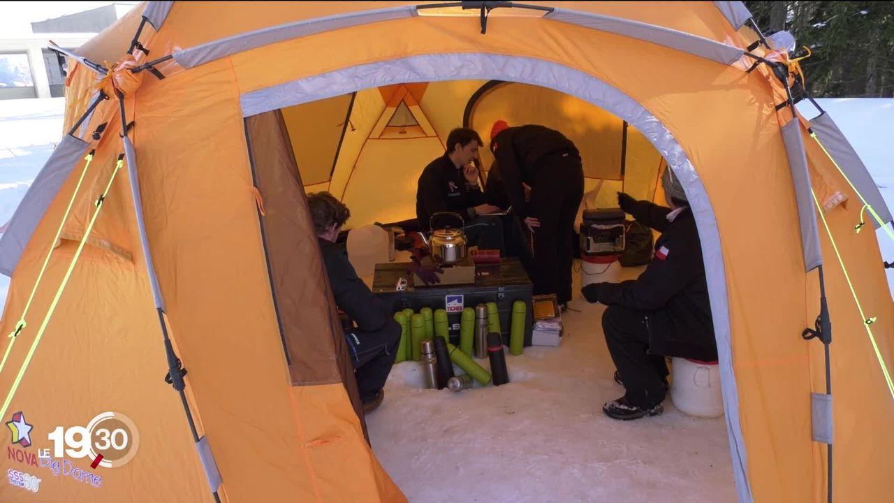 Crans-Montana a accueilli pendant 4 jours la mission Asclepios, un camp scientifique d'étudiants devenus apprentis astronautes [RTS]