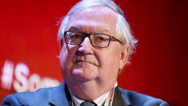 Patrick Artus, chef économiste à la banque Natixis. [Eric Piermont - AFP]