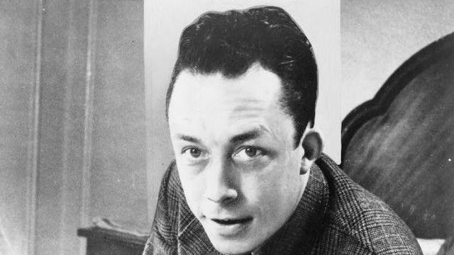 Albert Camus en 1957 [Wikimedia]