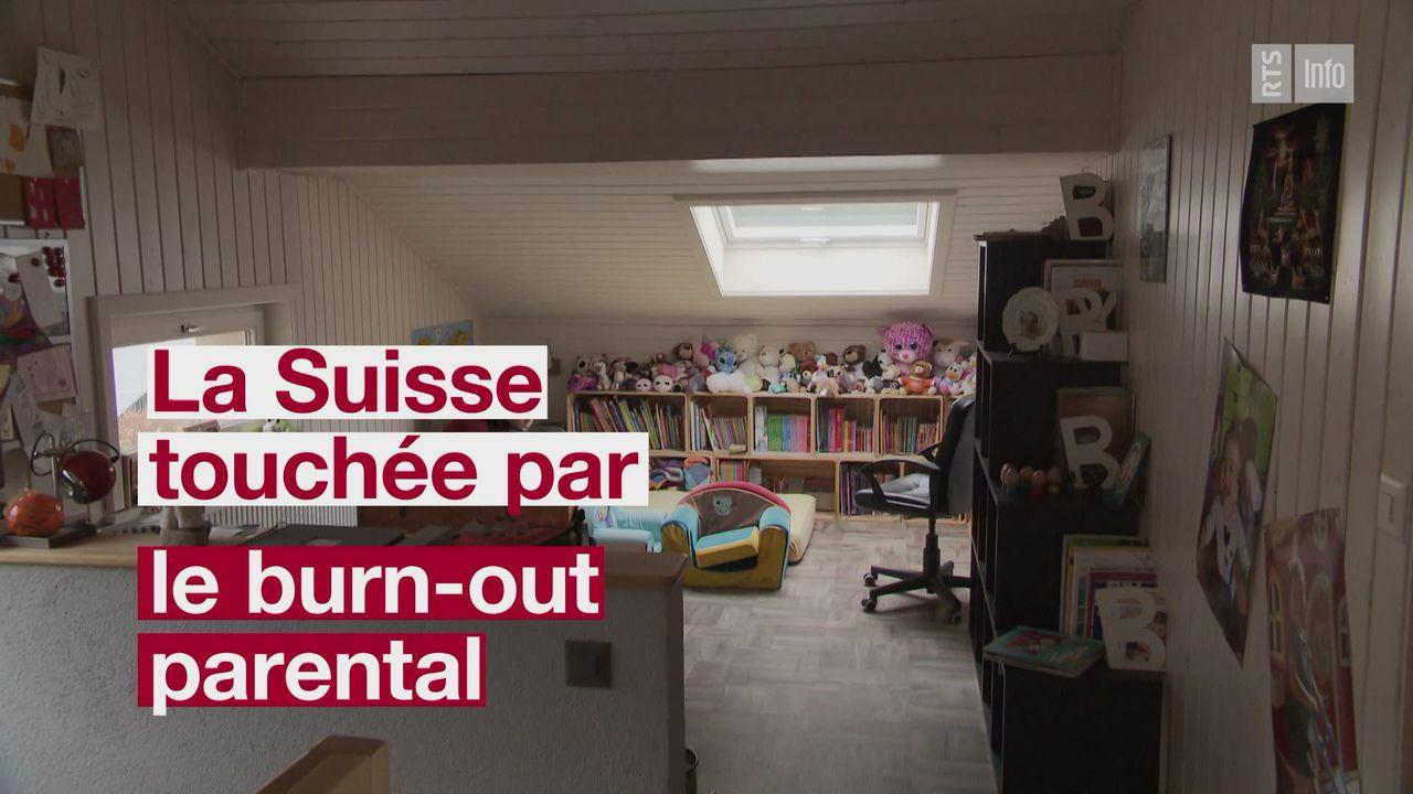 Le burn-out parental touche 5% des parents suisses [RTS]