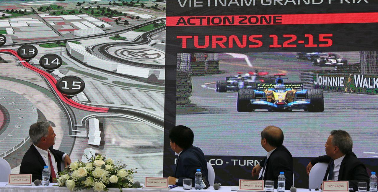 Le GP du Vietnam aura bel et bien lieu cette année. [Tran Van Minh - AP]