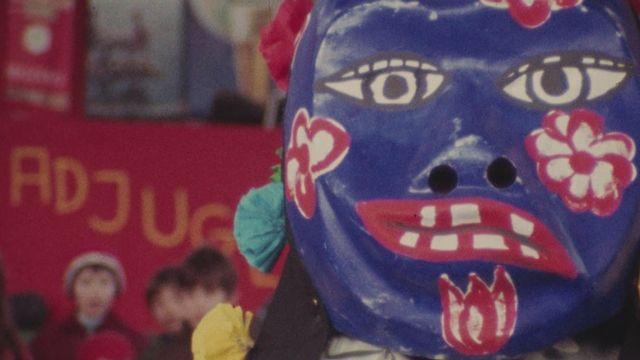 Les carnavals romands en 1971. [RTS]