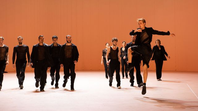 La chorégraphe belge Anne Teresa De Keersmaeker fait danser les six concertos brandebourgeois. [©Anne Van Aerschot]
