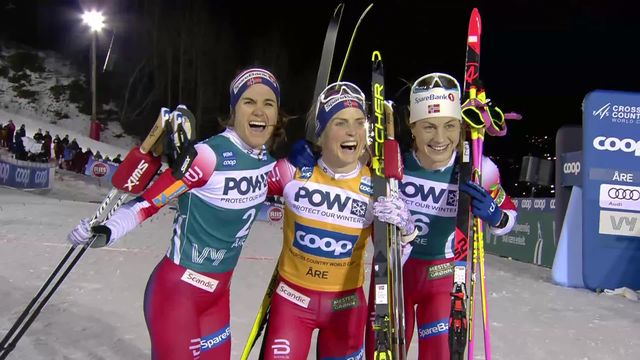 Åre (SWE), sprint dames: Therese Johaug (NOR) s'impose, la Suissesse Nadine Faehndrich prend la 5e place [RTS]