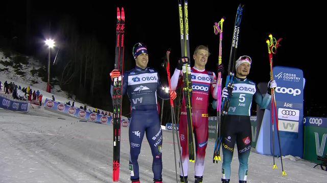 Åre (SWE), sprint messieurs: victoire de Johannes H. Klaebo (NOR) [RTS]