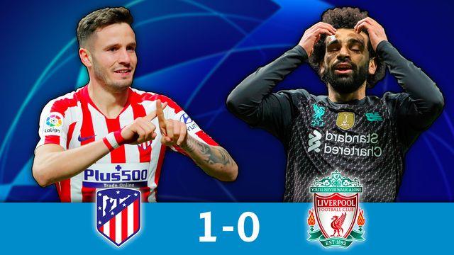 1-8e aller, Atlético Madrid - Liverpool (1-0): résumé de la rencontre [RTS]