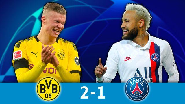 1-8e aller, B. Dortmund - Paris SG (2-1): résumé de la rencontre [RTS]
