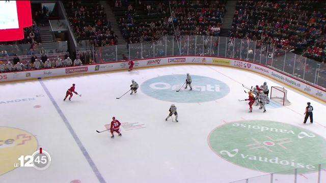 Hockey sur glace: Fribourg-Gottéron s'est imposé 3 à 2 à Lausanne, alors que Genève-Servette perdait à domicile. [RTS]