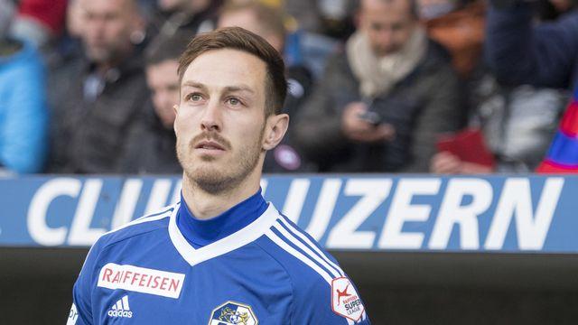 François Affolter avait quitté Lucerne en 2017 pour tenter sa chance en MLS. [Urs Flueeler - Keystone]
