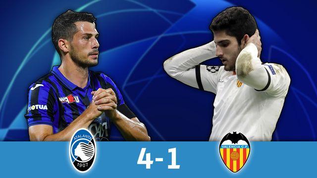 1-8 aller, Atalanta - Valence (4-1): Freuler marque et l'Atalanta roule sur Valence