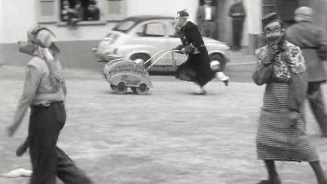 Les rababous de l'Auge en 1960. [RTS]