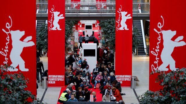 La 70e Berlinale va attirer un public nombreux. Ici, la queue pour obtenir un ticket pour un film, le 17 février 2020. [Odd ANDERSEN  - AFP]