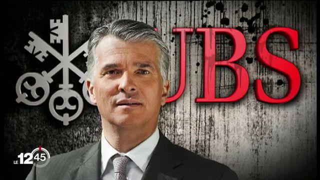 Changement à la tête d'UBS: Sergio Ermotti annonce son départ. Il sera remplacé par Ralph Hamers. Explications de Nicolas Rossé. [RTS]