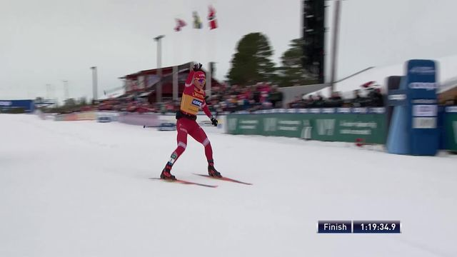 Meraker (NOR), Mass Start messieurs: Bolshunov (RUS) s'impose, Cologna et Furger (SUI) dans le top-10 [RTS]