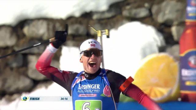 Antholz (ITA), relais mixte: victoire pour la Norvège, la Suisse 5e [RTS]