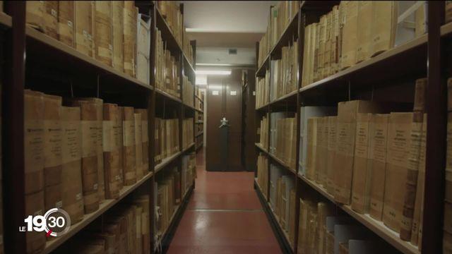 Affaire Crypto AG: un document clé a été retrouvé. Reste à compulser manuellement des milliers de documents. [RTS]