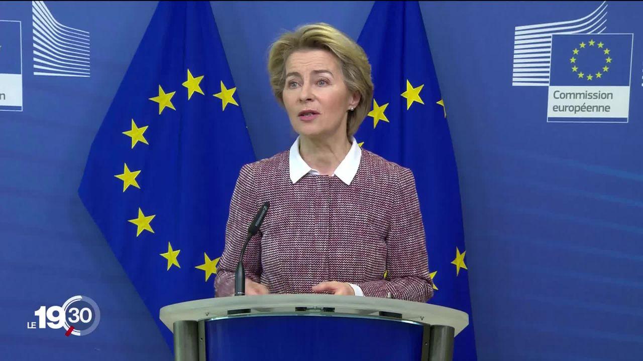 La Commission européenne veut réguler l'intelligence artificielle. [RTS]