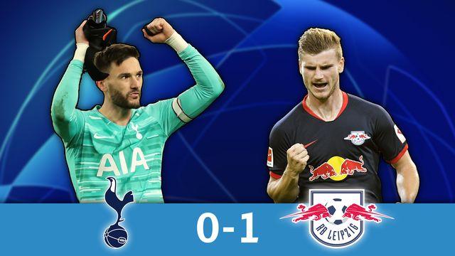 1-8 aller, Tottenham - Leipzig (0-1): Timo Werner offre la victoire à Leipzig à Londres