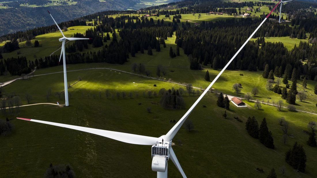 Un record de production d'électricité éolienne en 2019.