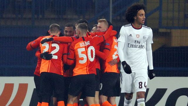 Benfica et Seferovic défaits à Donetsk