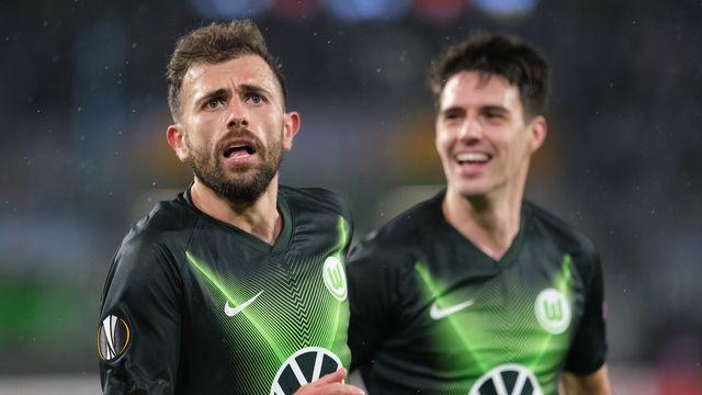 Mehmedi aide Wolfsburg à remporter le match aller