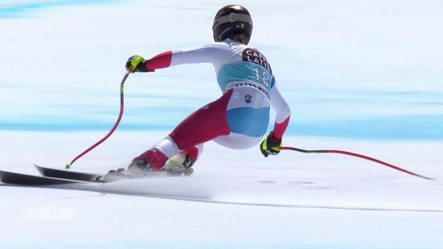 Ski, Crans-Montana (SUI), descente dames: victoire de Lara Gut-Behrami, Corinne Sutter deuxième [RTS]