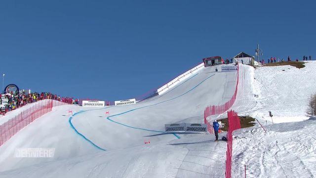 Ski: la piste du Mont-Lachaux [RTS]