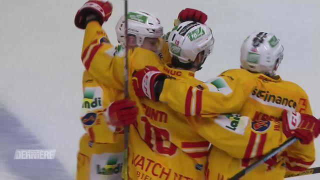National League, 47e journée: Lausanne - Bienne (2-3) [RTS]