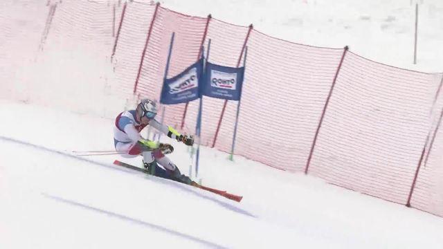 Yuzawa Naeba (JAP) Slalom Géant 2ème manche Messieurs  : Marc Odermatt (SUI) [RTS]