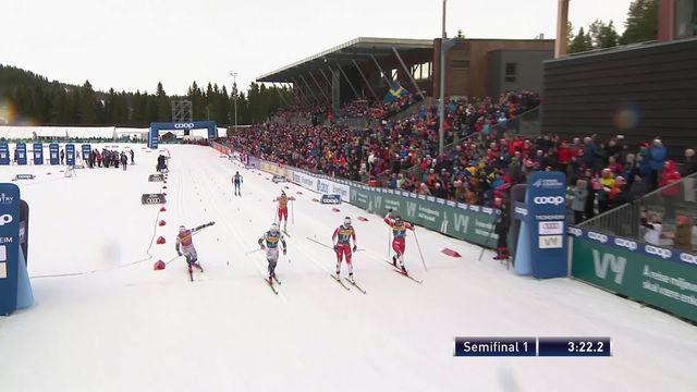 Trondheim (NOR), 1-2 sprint dames: Laurien Van Der Graaff (SUI) termine dernière de sa série [RTS]