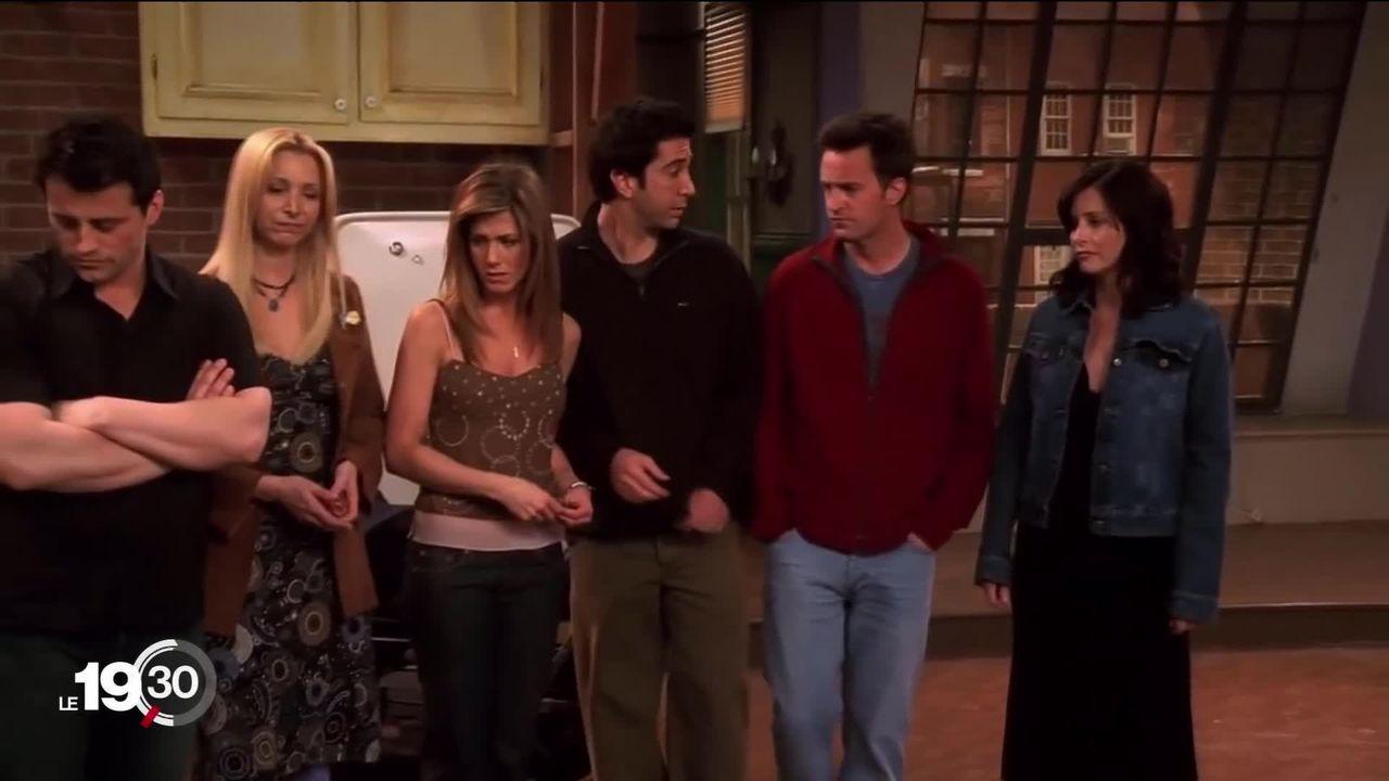 """La bande de copains de """"Friends"""" se reforme pour un épisode spécial, 15 ans après. [RTS]"""