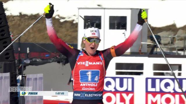 Biathlon, Antholz (ITA), relais dames: victoire de la Norvège, l'équipe suisse termine en 6e place [RTS]